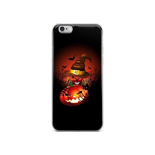 - iPhone 6/6s Case Anti-Scratch Phantasy Imagination Transparent Cases Cover Skull Witch Monster Fantasy Dream Crystal Clear