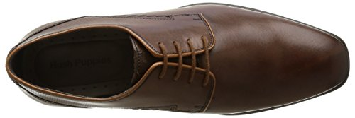 Hush Puppies - Sandali con Zeppa uomo Marrone (Brown (Brown Leather))