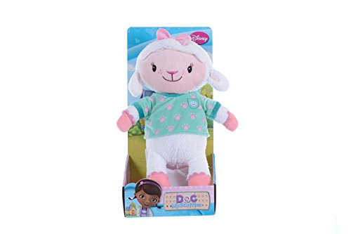 Posh Paws Disney Doc Mcstuffins 22Cm Soft Plush Toy - Lambie