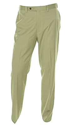 Calvin Klein Men's Flat Front Dress Pants