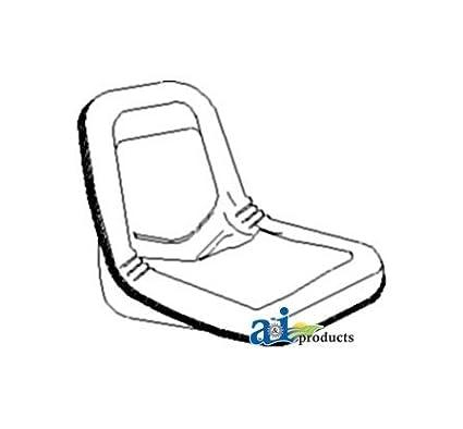 John Deere Tractor Seats