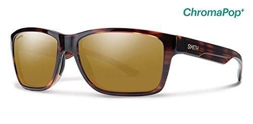 Polarized Bronze Mirror - Smith Wolcott ChromaPop+ Polarized Sunglasses, Tortoise, Bronze Mirror Lens
