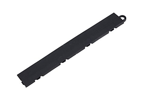 IncStores Nitro Garage Tile Edge Pieces for Diamond, Coin and Vented Nitro Garage Tiles (4 Pack (Male), Black)