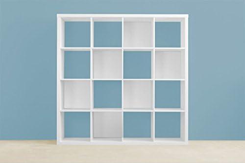 En la parte trasera para IKEA kallax estante (1 par, de madera de abedul)