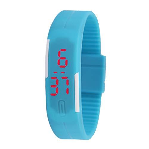 Astrryfarion Fitness Tracker,Sports Waterproof Touch Screen Pedometer Watch Luminous Blood Pressure Heart Rate Sleep…