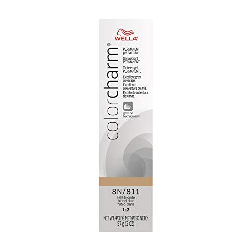Wella Color Charm Gel, 811/8N Light Blonde, 2 Ounce