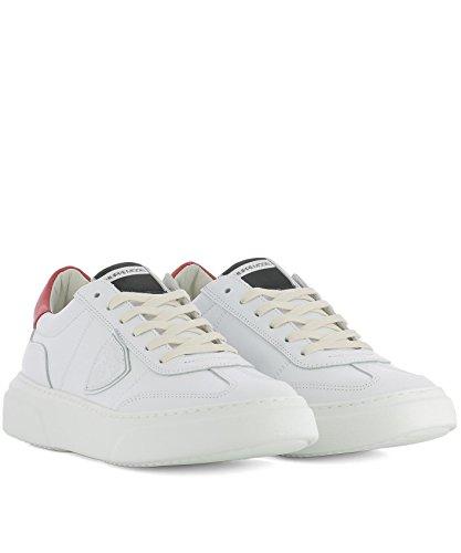 Philippe Model Sneakers Uomo BALUV002 Pelle Bianco