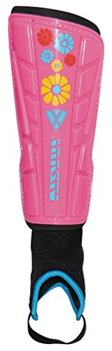 Vizari Blossom Shin Guard, Pink/Blue, Small by Vizari