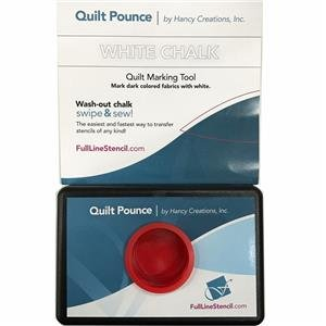 Quilt Pounce Pad With Wash-Out White Chalk Powder - 1111 Super Metal
