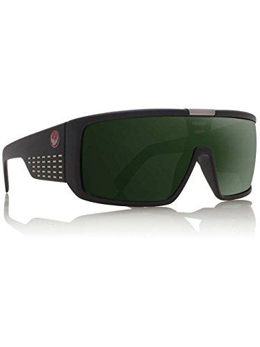 Dragon Alliance Domo Matte Black Frame with Green G15 Lens ()