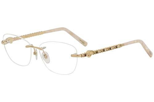 Chopard Eyeglasses VCHB51S VCHB/51/S 08MG Copper/23K Gold Optical Frame 56mm ()