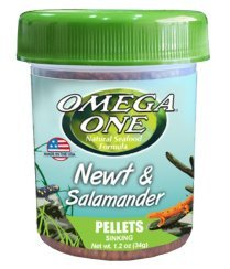 Pictures of Omega One Newt & Salamander Pellets 1.2oz 63111 1