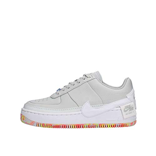 Nike Women's Air Force 1 Jester XX Print Pure Platinum/White/Multi AV2461-001 (Size: 8)