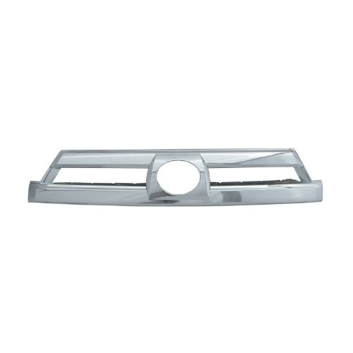 1 Piece Bully  GI-07 Triple Chrome Plated ABS Snap-in Imposter Grille Overlay