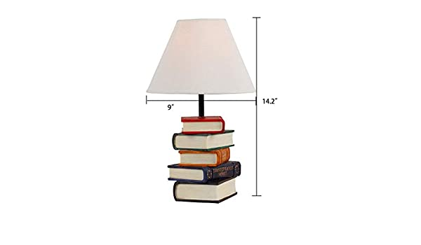 Amazon.com: ChuanHan Ceiling Fan Light Chandelier Lightings Table Lamp Retro Creative Book Led Study Reading Bedside Art Table: Sports & Outdoors
