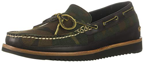Cole Haan Men's Pinch Rugged Camp MOC Moccasin, camo Canvas/After Dark, 10.5 M US (Cole Haan Camo)