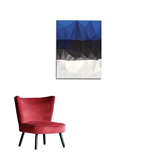 Estonian Garden - longbuyer Photo Wall Paper Estonian Flag Mural 16