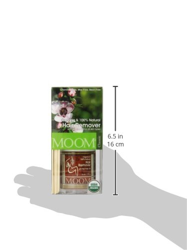 Moom Organic Hair Removal Kit, Tea Tree, 6-Ounce Package by Moom (Image #6)