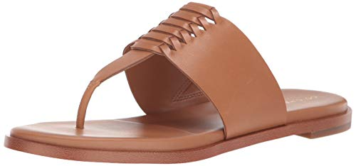 The A Slide Womens Cole Haan - Cole Haan Women's Felix Grand Thong Sandal, Pecan Leather, 6.5 B US