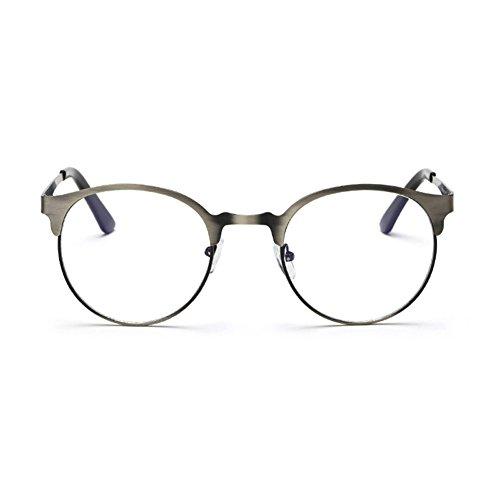 de Verres Armature conception lentille conception métal Delaying de force sans de bleus de anti de en verres gray frontière mode lunettes de simple de v44dqTnx