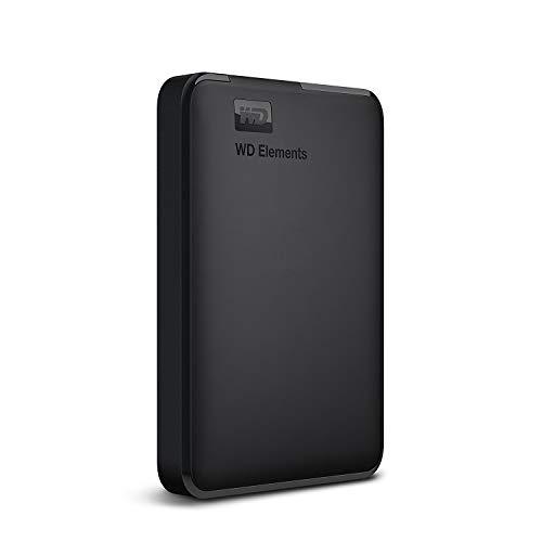 WD HDD ポータブルハードディスク ブラック 2TB WD Elements Portable WDBU6Y0020BBK-WESN USB3.0