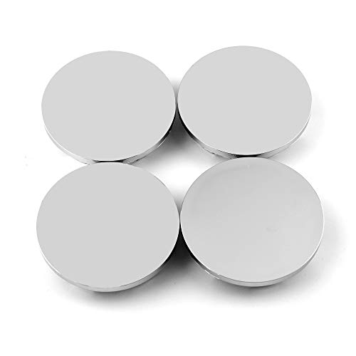 67mm(2.65in)/61mm(2.4in) Chrome Silver Car Wheel Center Hub Caps Set of 4 for Chevy Blazer(1995-2005) Chevy S10(1995-2004) #15661129