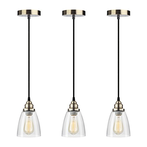 3 Bulb Pendant Light Fixture - 5