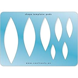 Cool Tools - Jewelry Shape Template - Pods