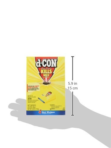 D-Con Mouse Proof II 4 Pack