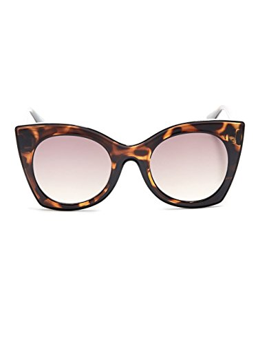 GUESS Women's Brea Angular Cat Eye - Guess Case Sunglass