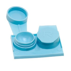 You've Saved Contact Lens Case (3 Pack) (Yellow) You' ve Saved