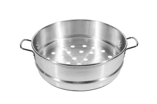 Cheap Town Food Service 16 Inch Aluminum Steamer