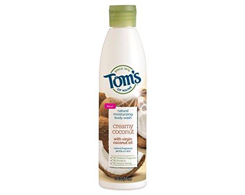 Tom's Natural Moisturizing Body Wash, Creamy Coconut, 12 fl oz (Pack of 2)