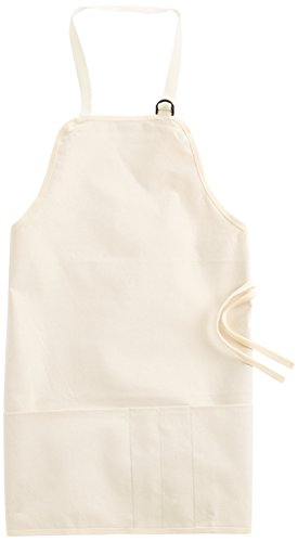 Tran Duck Canvas Artist Apron, Natural