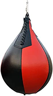 Speed Ball Punch Bag Durable Home Gym Pear Shape for Boxing PU Leather Portable Suitable Speed Ball for Boxing