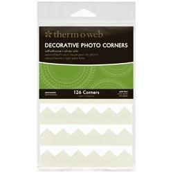 Bulk Buy: Therm O Web (3-Pack) Decorative Photo Corners 126/Pkg Ivory PCS126-3869 by Therm O Web