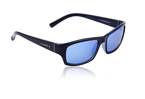 Swiss Nero (black shiny/crystal blue)