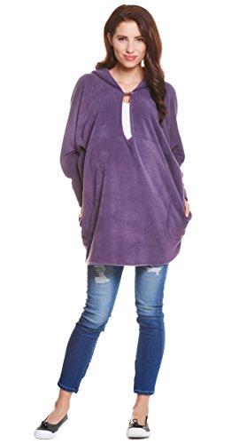 Be! Mama - Camiseta de manga larga - para mujer morado