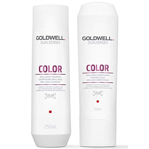 Goldwell Dualsenses Color Brilliance Shampoo & Conditioner Duo 10.1 ()