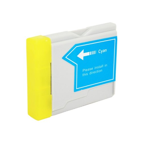 Lc51 Cyan Compatible Ink - HI-VISION HI-YIELDS Compatible Ink Cartridge Replacement for Brother LC51 (Cyan)