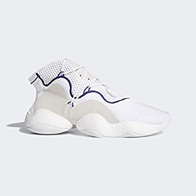 huge discount 68fbe df577 adidas Mens CRAZY BYW White White Purple - CQ0992 (8)