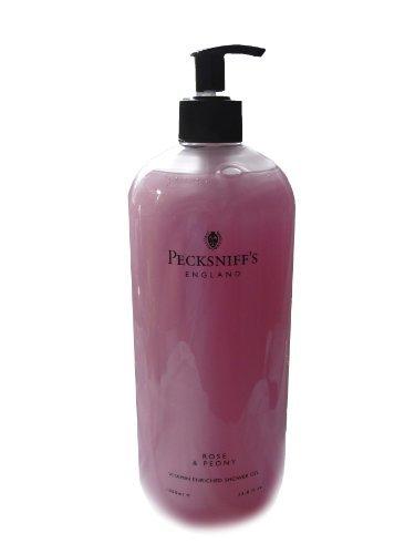 Love Scented Shower Gel - Pecksniff's Vitamin Enriched Shower Gel, Rose & Peony 33.8oz
