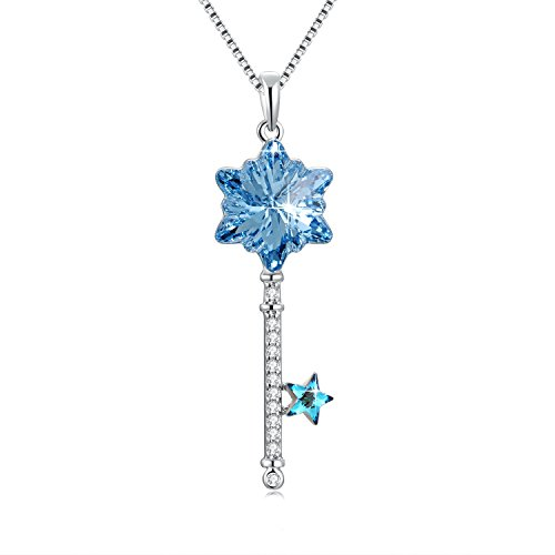 SUE'S SECRET Heart Shape Guard Your Necklace, Crystal from Swarovski, Guardian Heart Pendant Necklace, Love Heart Necklace Gifts
