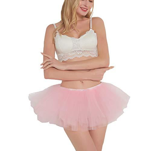 BUENOS NINOS Women Tutu Boutique Ballerina Skirt (Pink)]()