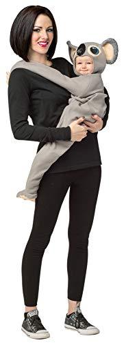 Baby Boy's Huggable Koala Outfit Animal Theme Infant Halloween Costume, Child OS Grey for $<!--$34.95-->