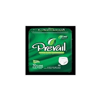 Pull Prevail (MCK82173100 - Adult Absorbent Underwear Prevail Pull On 2X-Large Disposable Heavy Absorbency)