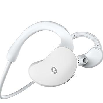 Auriculares Bluetooth, Kool(TM) Blanco Audífonos Bluetooth 4.0 En Oído Deportivos de Carrera