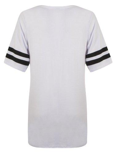 Outofgas Clothing. - Camisa deportiva - para mujer White 86