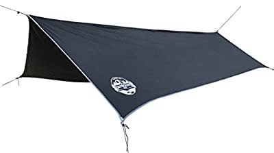 Hammock Tarp By The Outdoors Way. Best Quality Rain Fly For Extreme Waterproof Protection, Large Canopy Is Portable And Provides Ideal Shelter For Your Camping Hammock Or Tent. Performance Delivered!