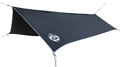 Large Rain Fly By The Outdoors Way. Best Quality for Extreme Waterproof Protection, Extra Big Size Provides Full Protection, Ideal Shelter For Hammock Camping And Outdoor Adventures!